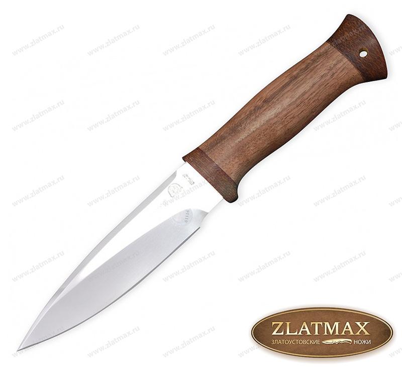 Нож FOX 4 (40Х10С2М, Орех, Текстолит) фото 01