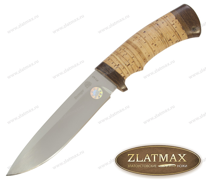 Нож Артыбаш (40Х10С2М, Наборная береста, Текстолит) фото 01
