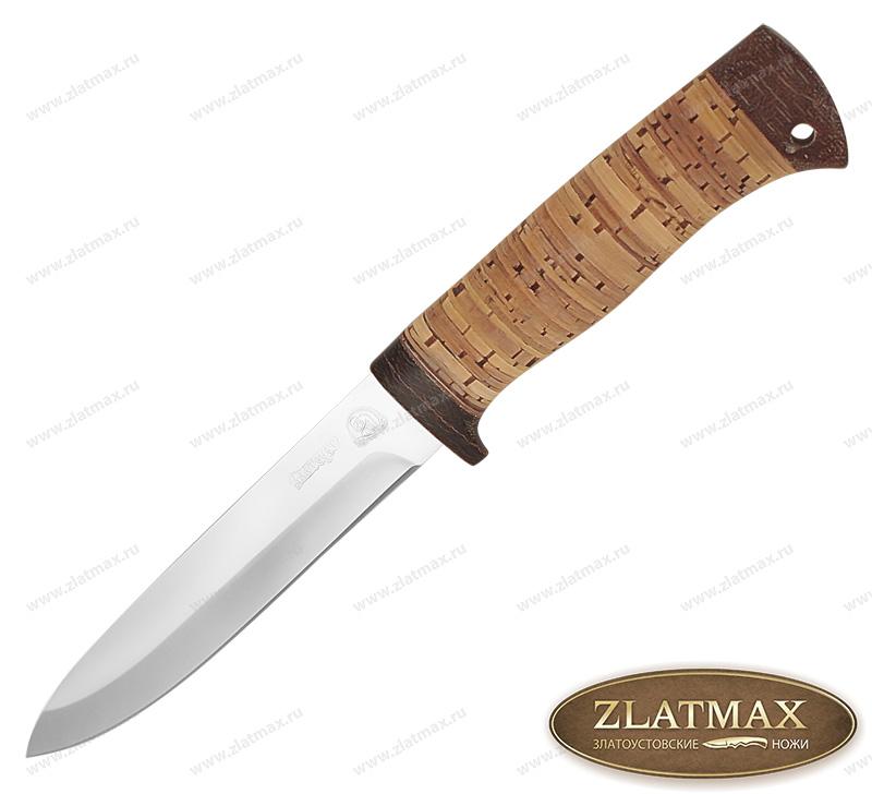 Нож Попутчик (40Х10С2М, Наборная береста, Текстолит) фото 01