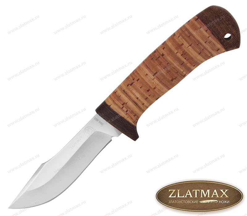 Нож Крот (40Х10С2М, Наборная береста, Текстолит) фото 01
