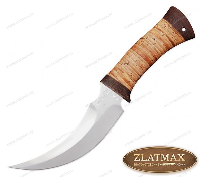 Нож Хазар (40Х10С2М, Наборная береста, Текстолит) фото 01