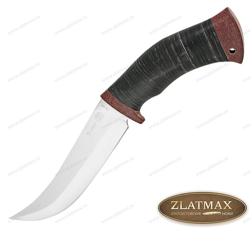 Нож Карахан (40Х10С2М, Наборная кожа, Текстолит) фото-01