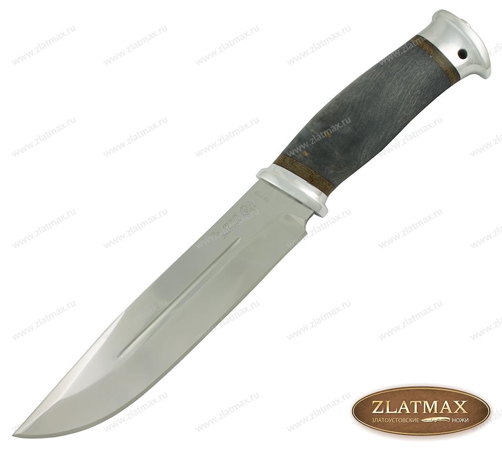 Нож Таежный-2 (95Х18, Стабилизированный кап, Алюминий) фото 01