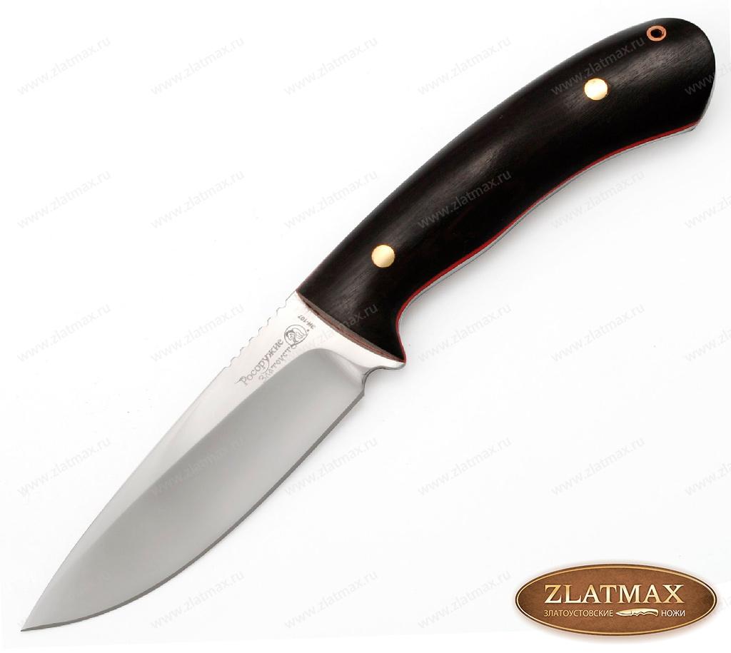 Нож Артыбаш 115 (40Х10С2М, Накладки фибра + граб) фото-01