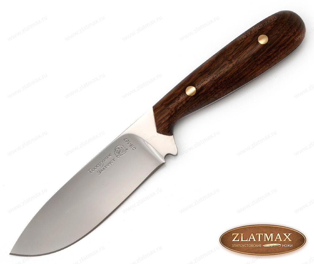 Нож Фултанг 4 (40Х10С2М, Накладки орех) фото 01