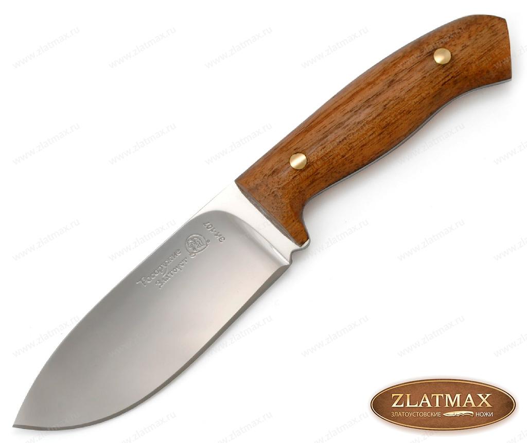 Нож Фултанг 2 (40Х10С2М, Накладки орех) фото-01