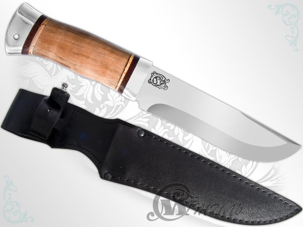 Нож охотничий НС-06 (40Х10С2М, Орех, Алюминий) фото 01
