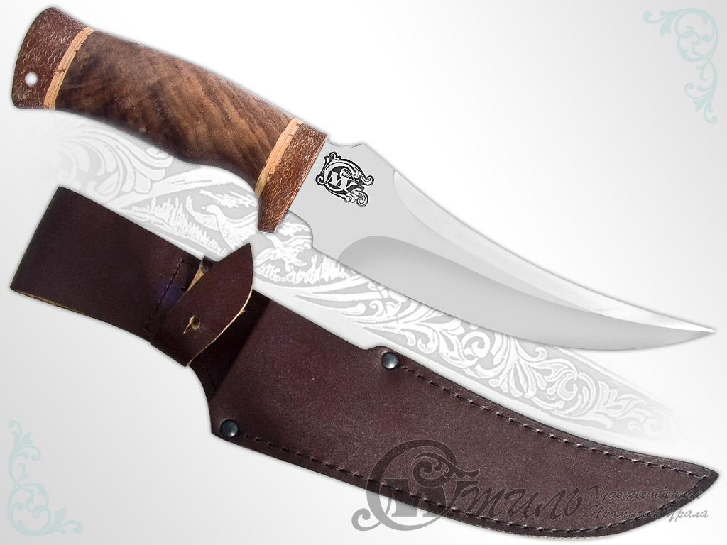 Нож охотничий НС-38 (40Х10С2М, Орех, Текстолит) фото 01