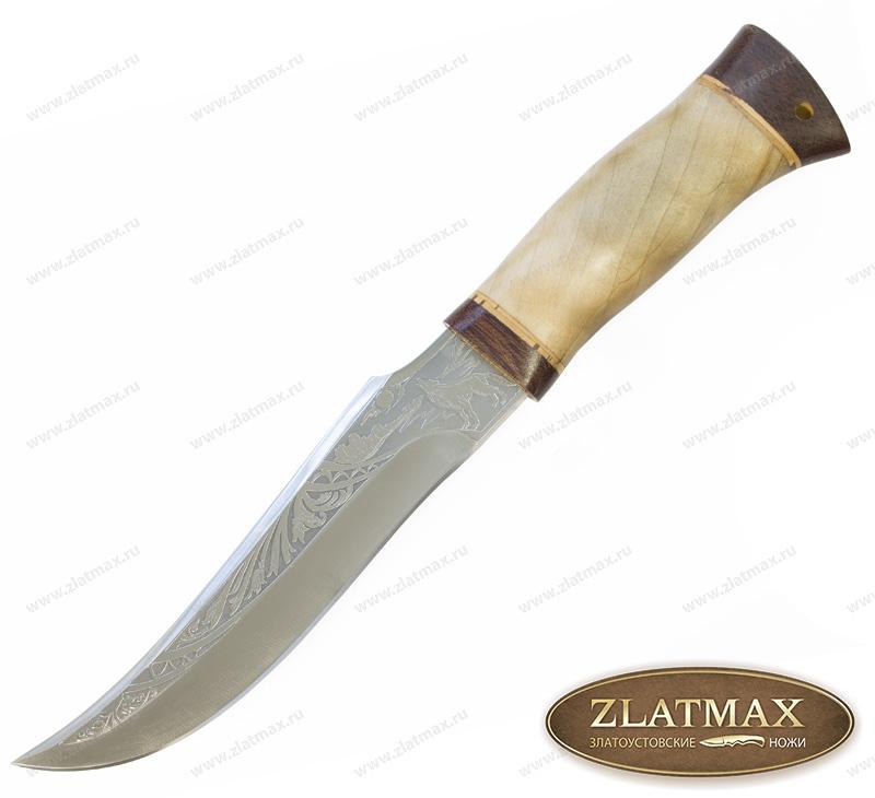Нож НС-50 (40Х10С2М, Орех, Текстолит) фото 01