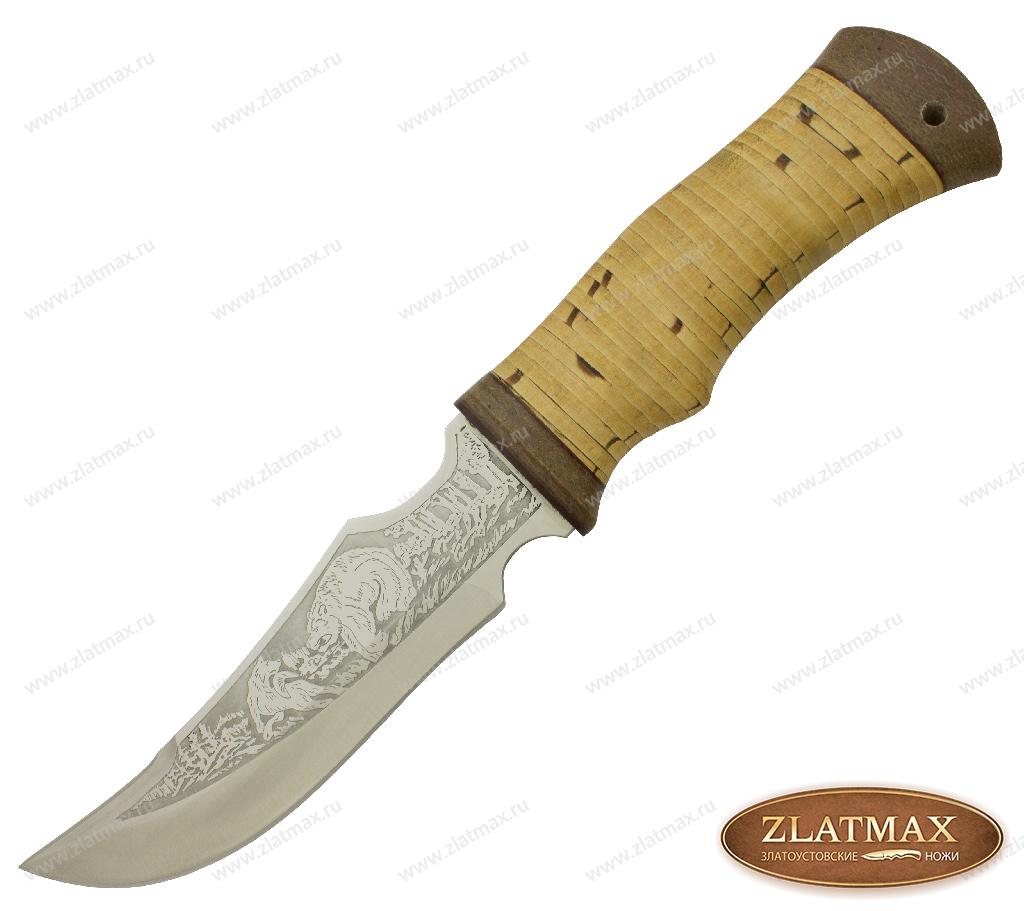 Нож НС-83 (40Х10С2М, Наборная береста, Текстолит) фото 01
