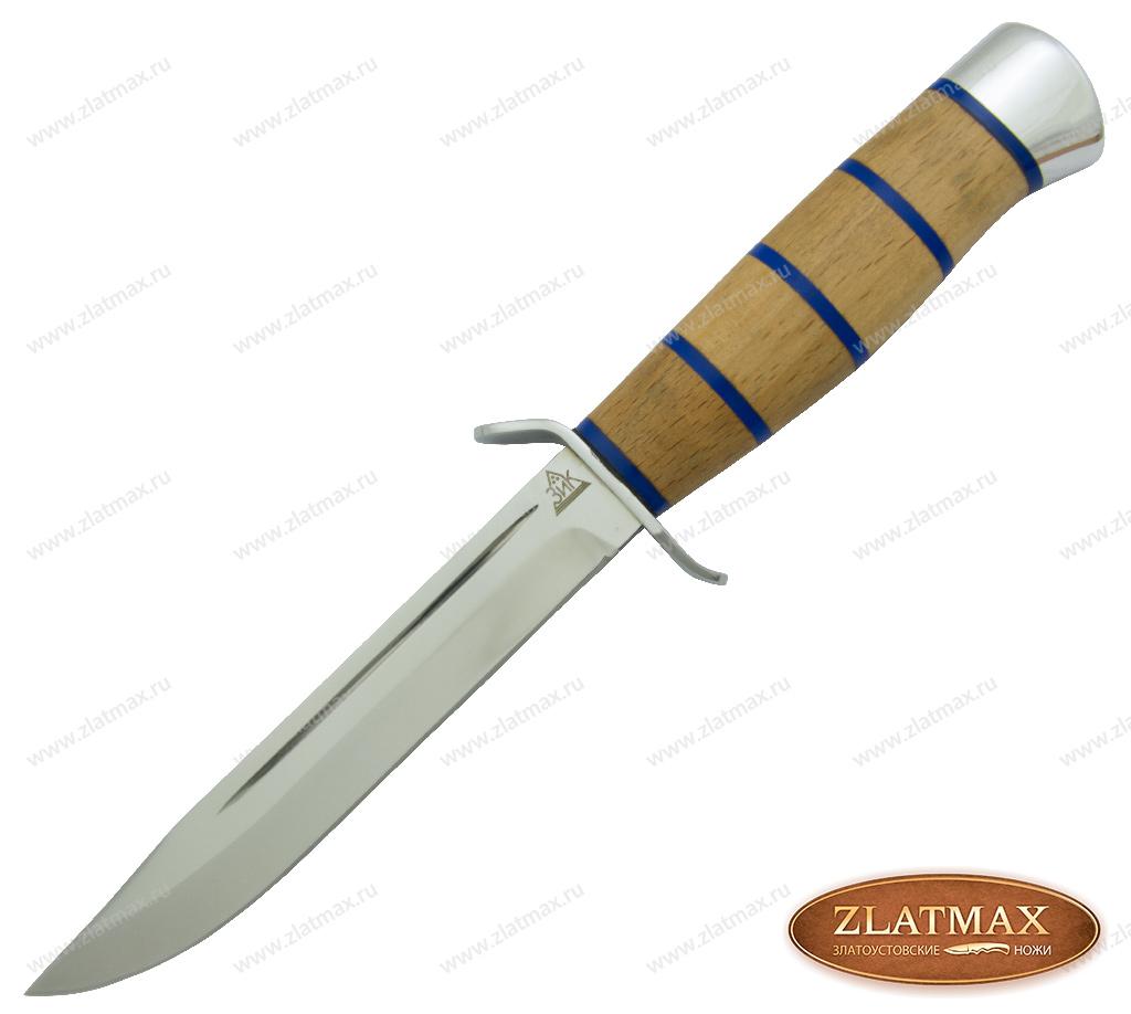 Нож Разведчика (95Х18, Комбинированная, Алюминий) фото 01