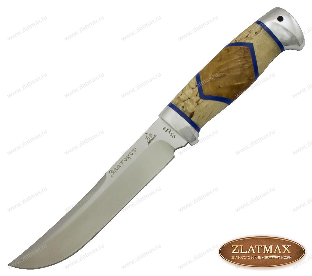 Нож Випер Люкс (95Х18, Комбинированная люкс, Алюминий) фото 01