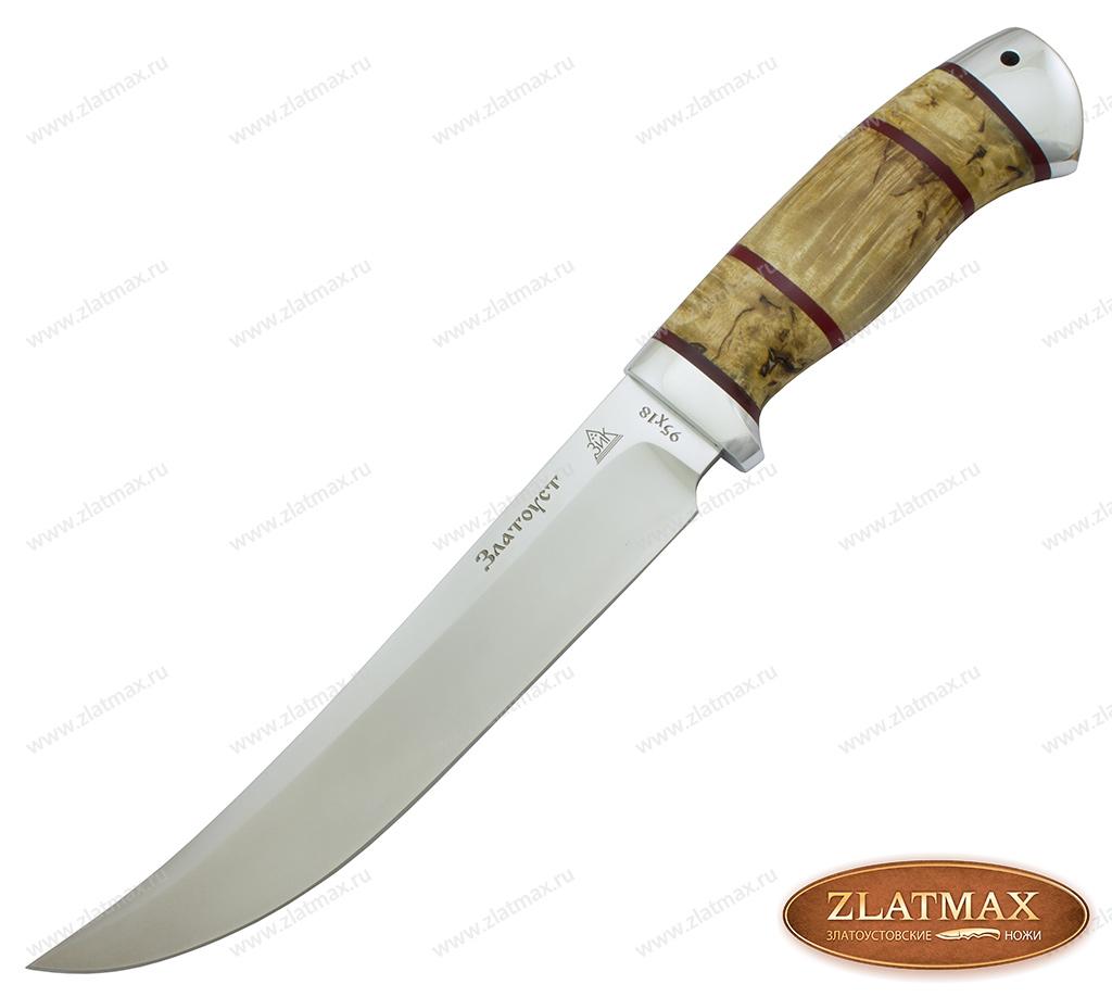 Нож Бивень (95Х18, Комбинированная, Алюминий) фото-01