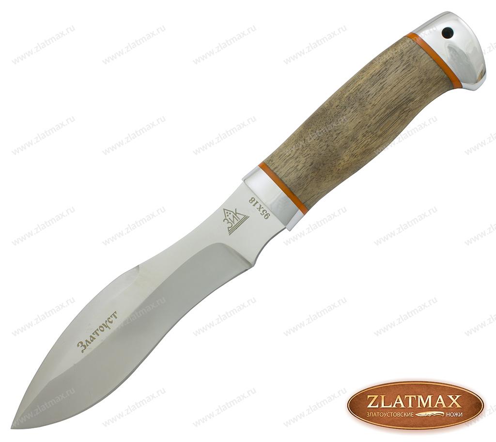 Нож Гарпия (95Х18, Орех, Алюминий) фото 01