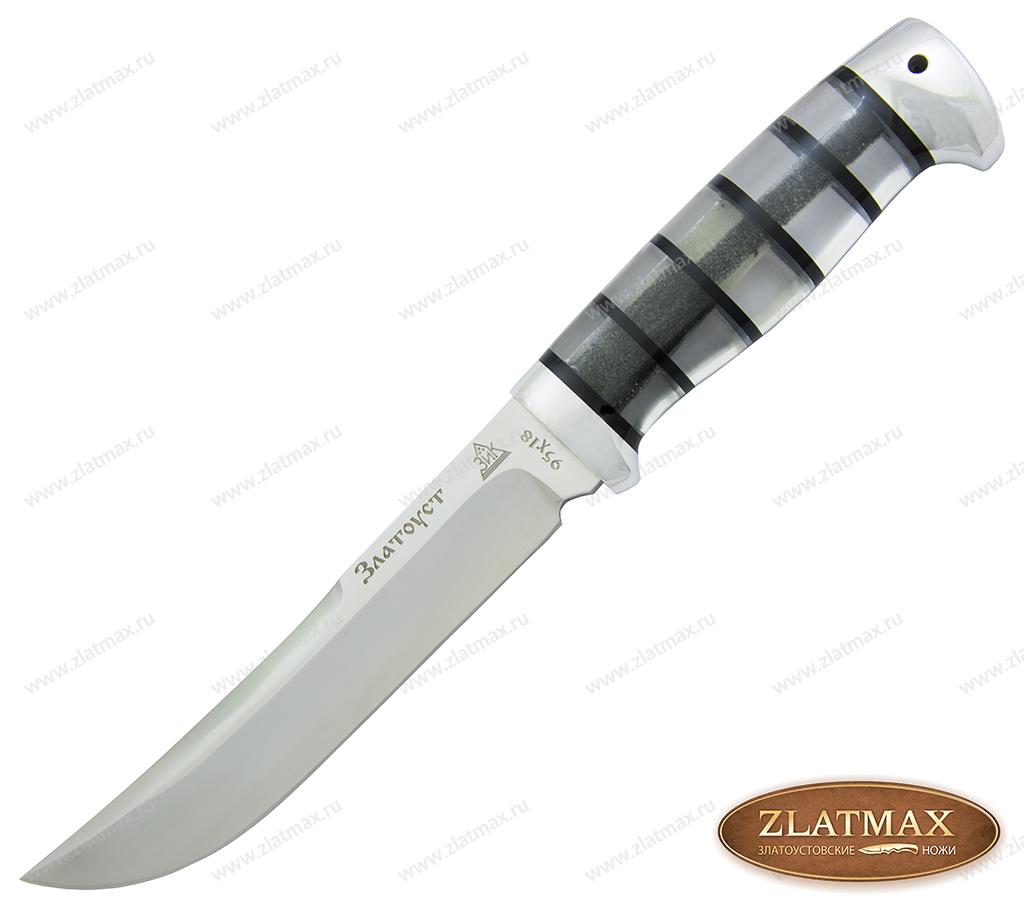 Нож Випер (95Х18, Оргстекло, Алюминий) фото 01