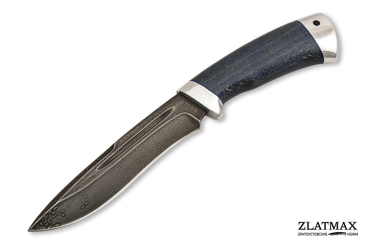 Нож Кондор-2  (Литой булат, Стабилизированный бук, Алюминий) фото 01