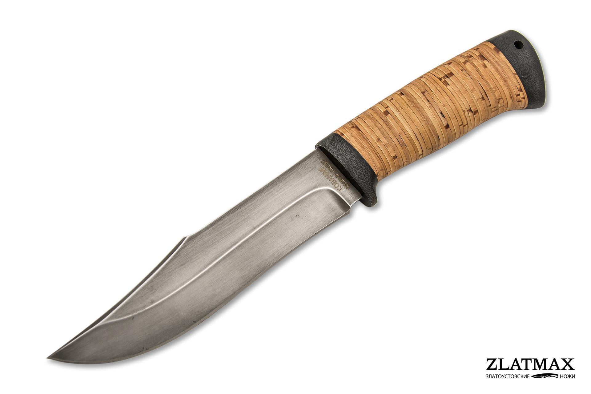 Нож Койот (Х12МФ, Наборная береста, Текстолит) фото 01