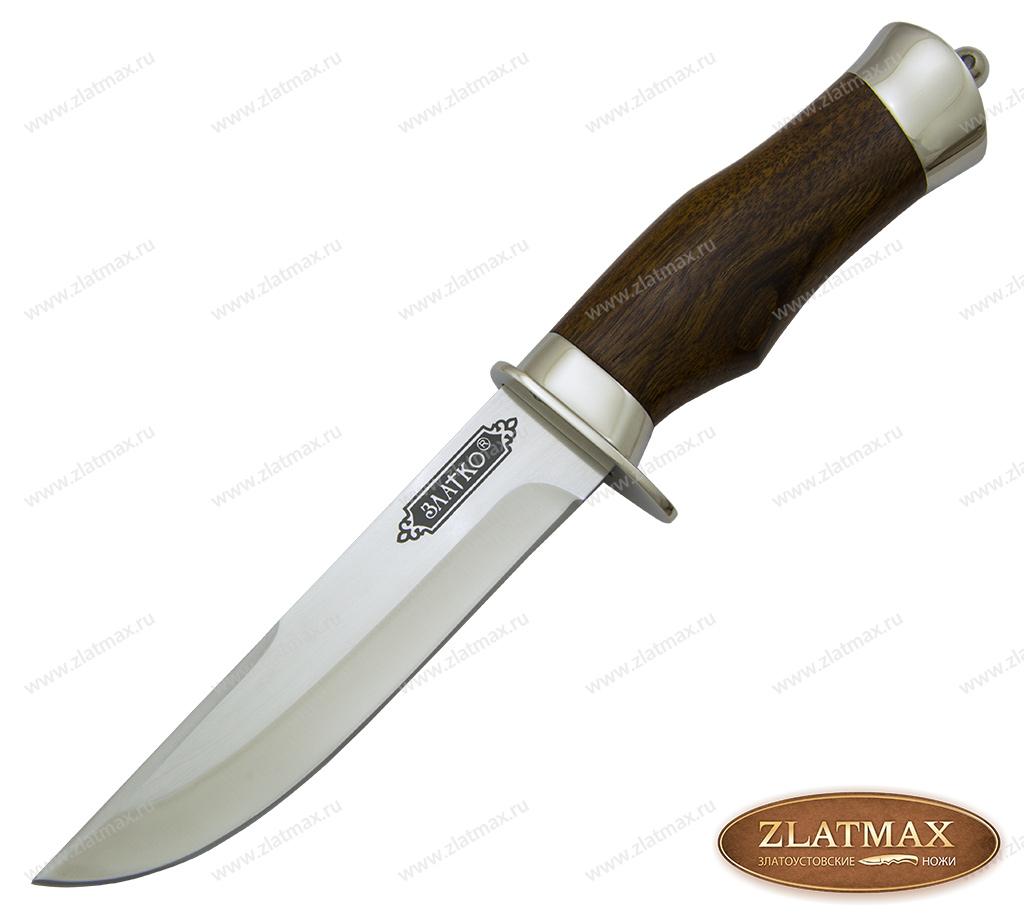 Нож Спец (100Х13М, Орех, Металлический) фото-01