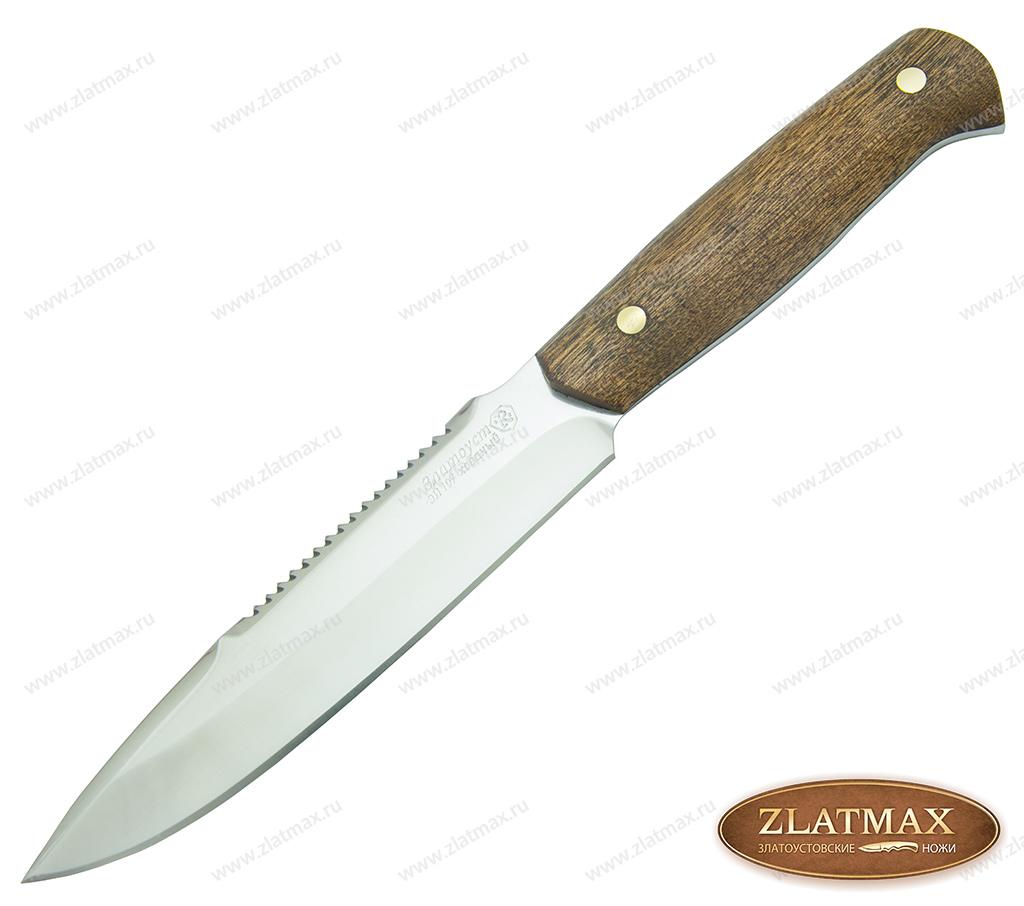 Нож Особист (40Х10С2М, Накладки орех) фото-01