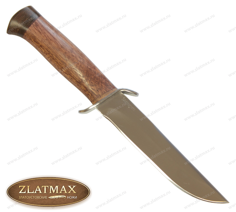 Нож Чекист (40Х10С2М, Сапеле, Нержавеющая сталь, Текстолит) фото 01