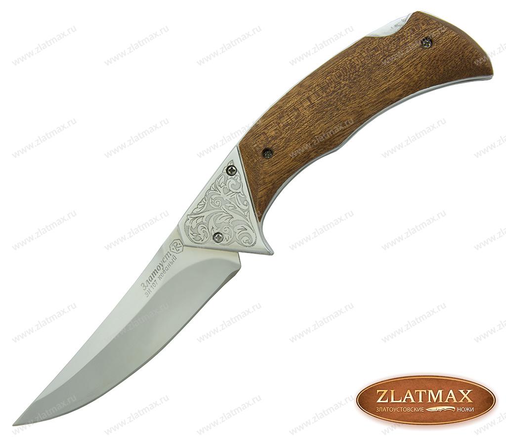 Складной нож Байрам (40Х10С2М, Накладки орех) фото 01