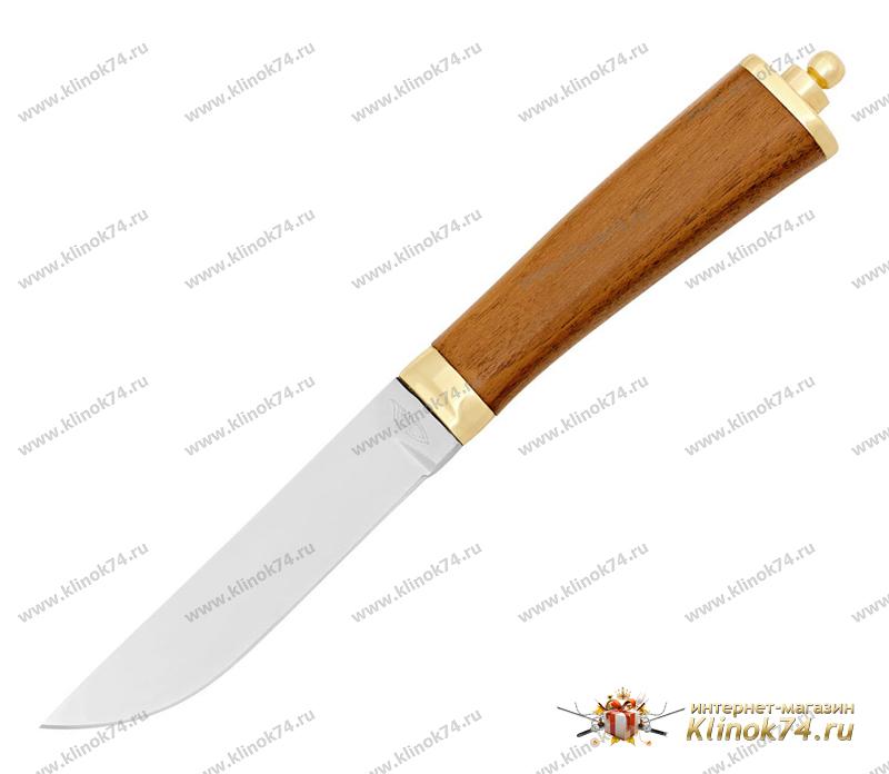 Нож Барс (40Х10С2М, Орех, Латунь) фото-01