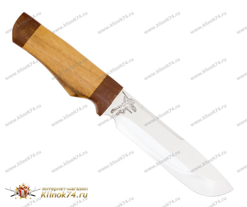 Нож Ахилл (40Х10С2М, Орех, Текстолит) фото 01