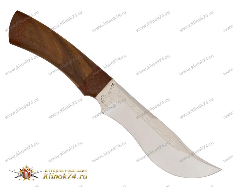 Нож Посейдон (40Х10С2М, Орех, Текстолит) фото 01