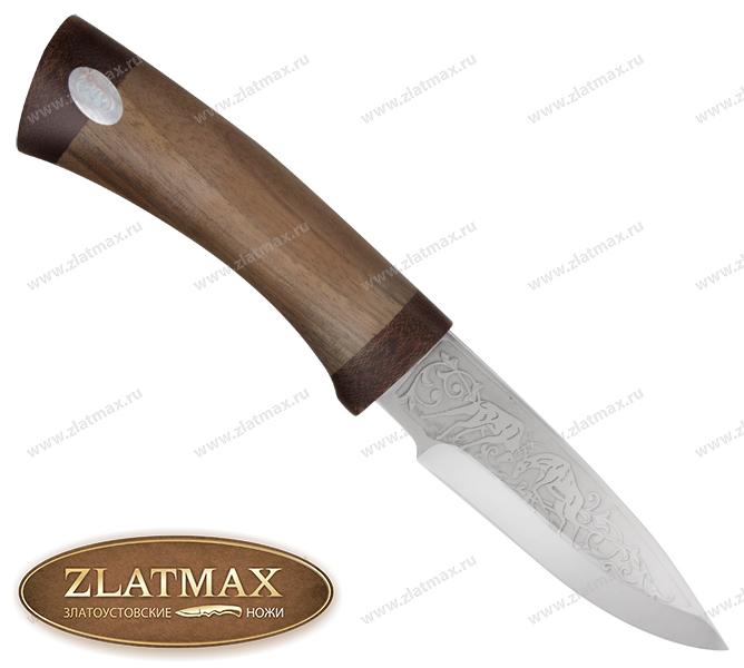 Нож Рыжик (ЭИ-107, Орех, Текстолит) фото 01