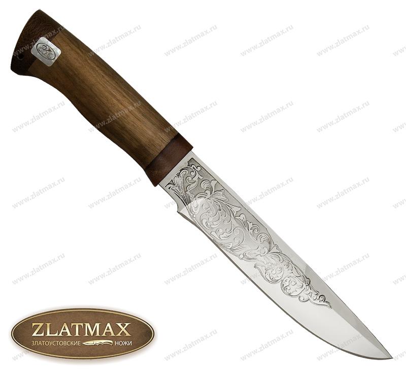Нож Боровик большой (ЭИ-107, Орех, Текстолит) фото 01