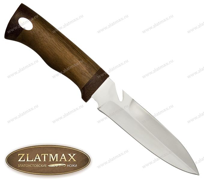Нож Гарпун (ЭИ-107, Орех, Текстолит) фото 01