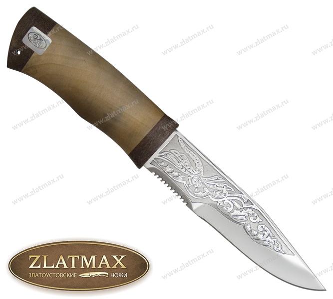 Нож Егоза (ЭИ-107, Орех, Текстолит) фото 01