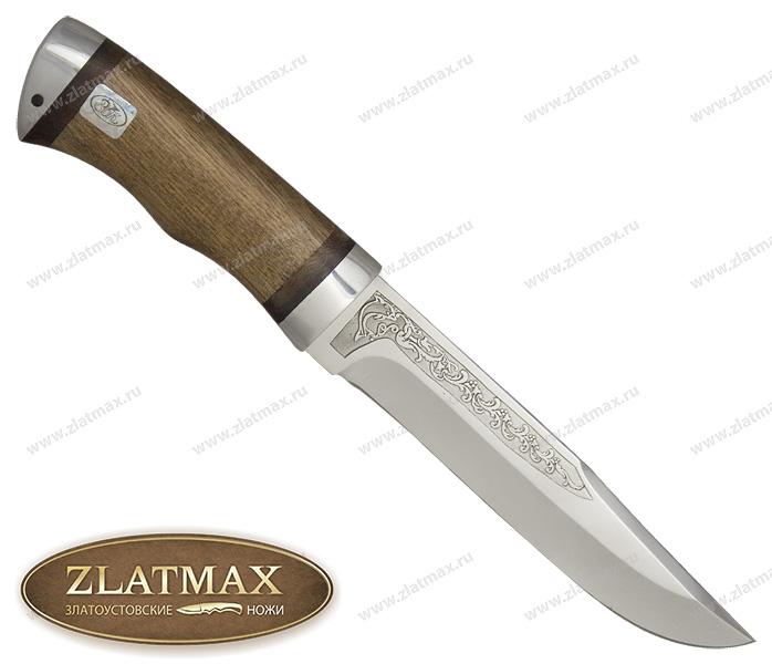 Нож Златоуст (ЭИ-107, Орех, Алюминий) фото 01