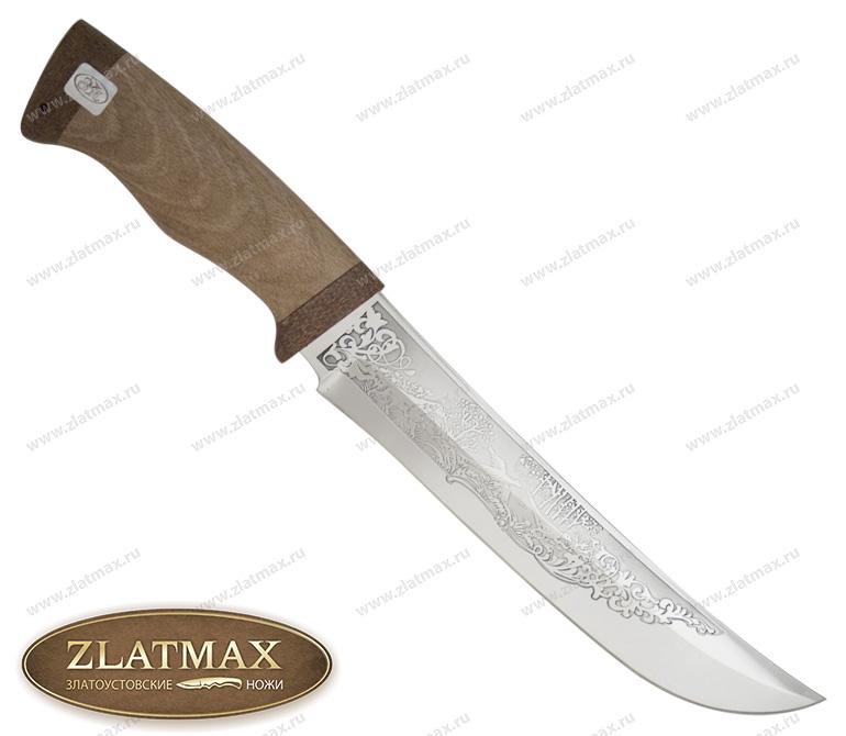 Нож Клык (ЭИ-107, Орех, Текстолит) фото 01