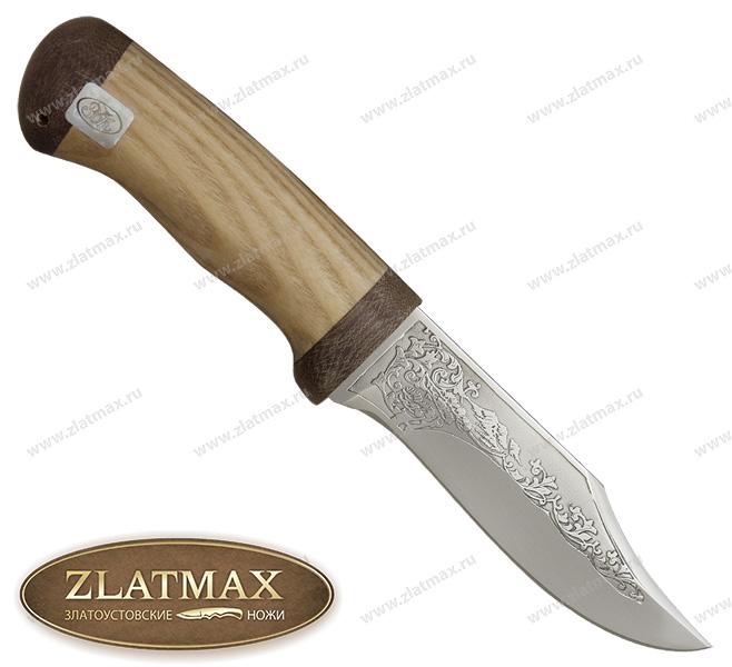 Нож Ратан (ЭИ-107, Орех, Текстолит) фото 01