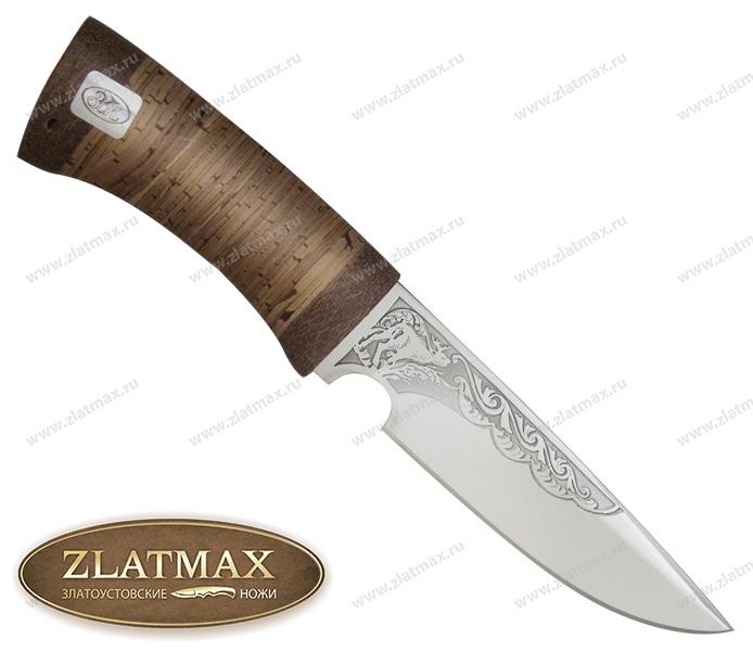 Нож Сапсан (ЭИ-107, Наборная береста, Текстолит) фото 01