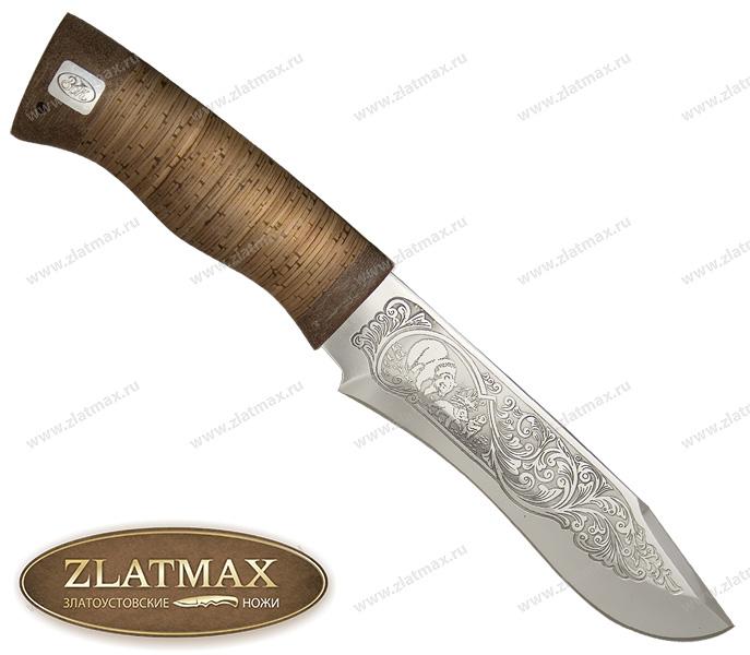 Нож Тургояк (ЭИ-107, Наборная береста, Текстолит) фото 01