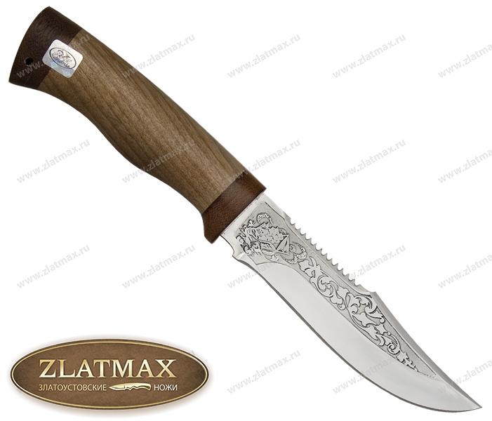 Нож Юнона (ЭИ-107, Орех, Текстолит) фото 01