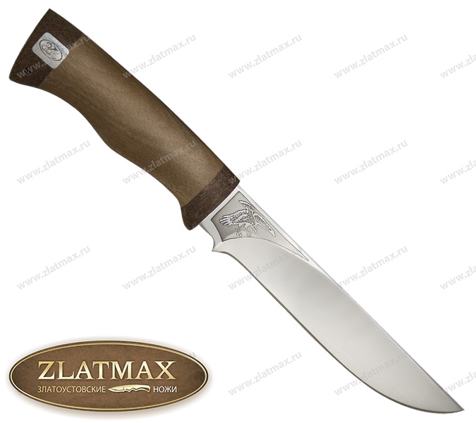 Нож Ястреб (ЭИ-107, Орех, Текстолит) фото 01