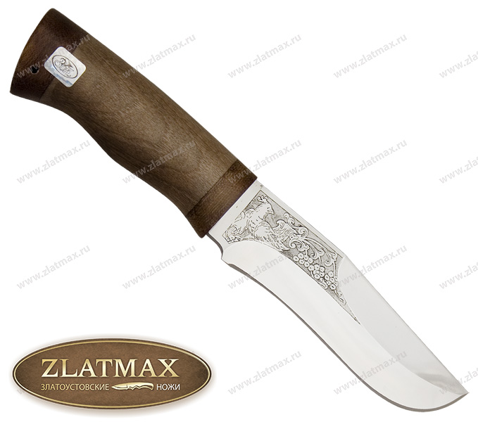 Нож Феникс (ЭИ-107, Орех, Текстолит) фото 01
