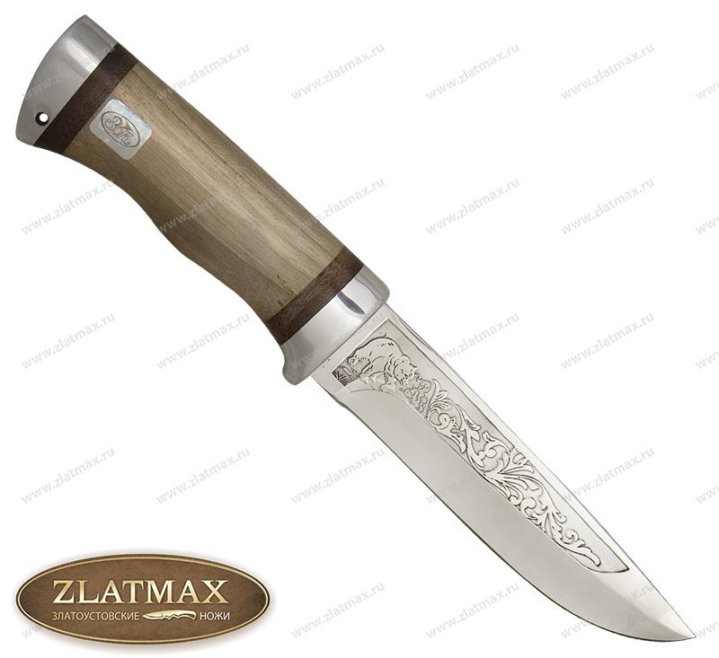 Нож SN-1 (ЭИ-107, Орех, Алюминий) фото 01