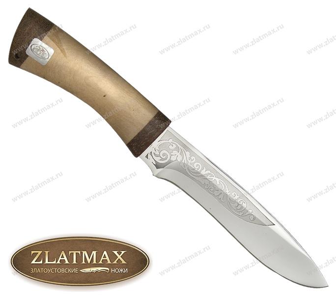 Нож Ильмень (ЭИ-107, Кап, Текстолит) фото 01