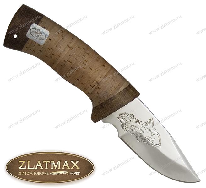 Нож Карась (ЭИ-107, Наборная береста, Текстолит) фото 01