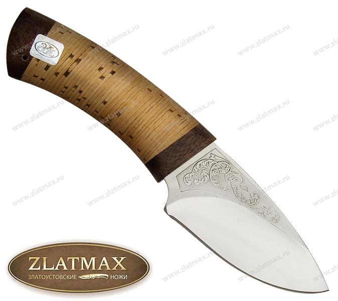 Нож Кобра (ЭИ-107, Наборная береста, Текстолит) фото 01