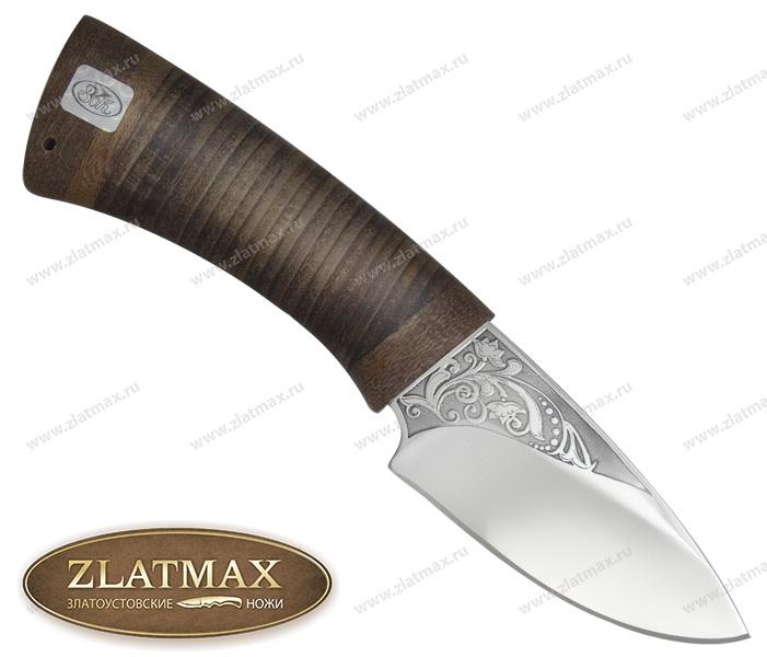 Нож Кобра (ЭИ-107, Наборная кожа, Текстолит) фото 01