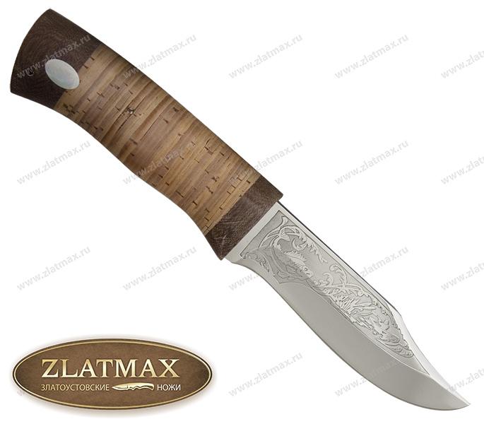 Нож Ратан (ЭИ-107, Наборная береста, Текстолит) фото 01