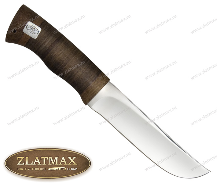 Нож Узбекский (ЭИ-107, Наборная кожа, Текстолит) фото 01