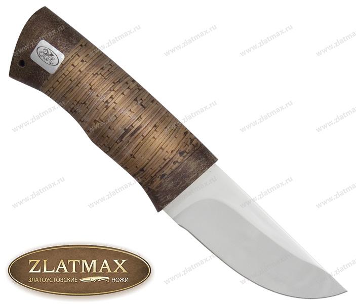 Нож Халзан (ЭИ-107, Наборная береста, Текстолит) фото 01
