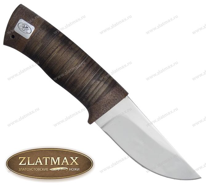 Нож Халзан (ЭИ-107, Наборная кожа, Текстолит) фото 01