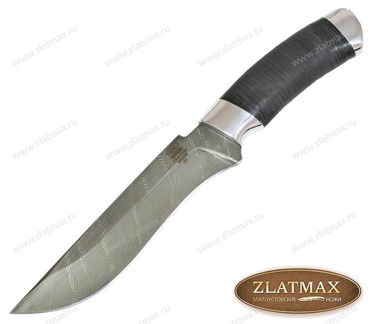 Нож Н2 Турция (У10А-7ХНМ, Наборная кожа, Алюминий) фото 01